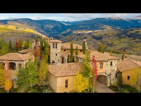 Italian Tuscan Style Architecture Luxury Homes