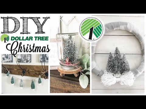 DIY Dollar Tree 3 Christmas Projects! | 7 of 12 Days of Christmas