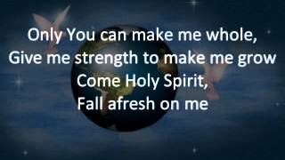Come Holy Spirit Fall Afresh on Me Instrumental
