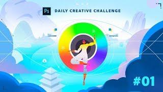 Photoshop Daily Creative Challenge #01