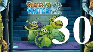 where's My Water 2 Level 30: What Does it Mean? 3 Ducks iOS Walkthrough