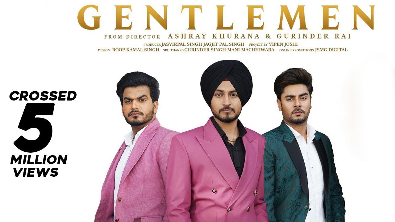 Gentlemen (Official Video) AKM Singh | Desi Crew | Jasvirpal Singh | New Punjabi Songs 2021