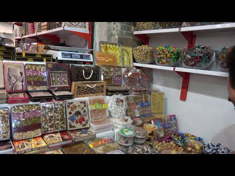 Bazaar in Shiraz .  Iran