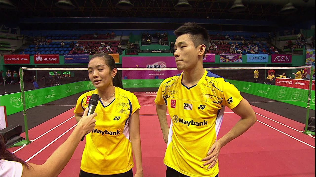 AXIATA CUP 2014 POST MATCH CHAN PENG SOON & LAI PEI JING