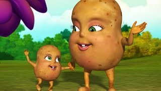 Aloo Kachaloo - The Number Song   Bengali Rhymes for Children   Infobells