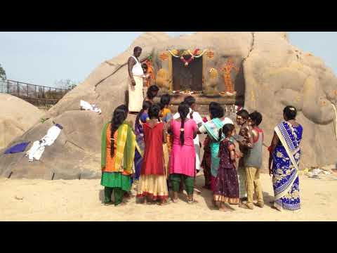 Mahaballipuram | Templo hindú en la playa