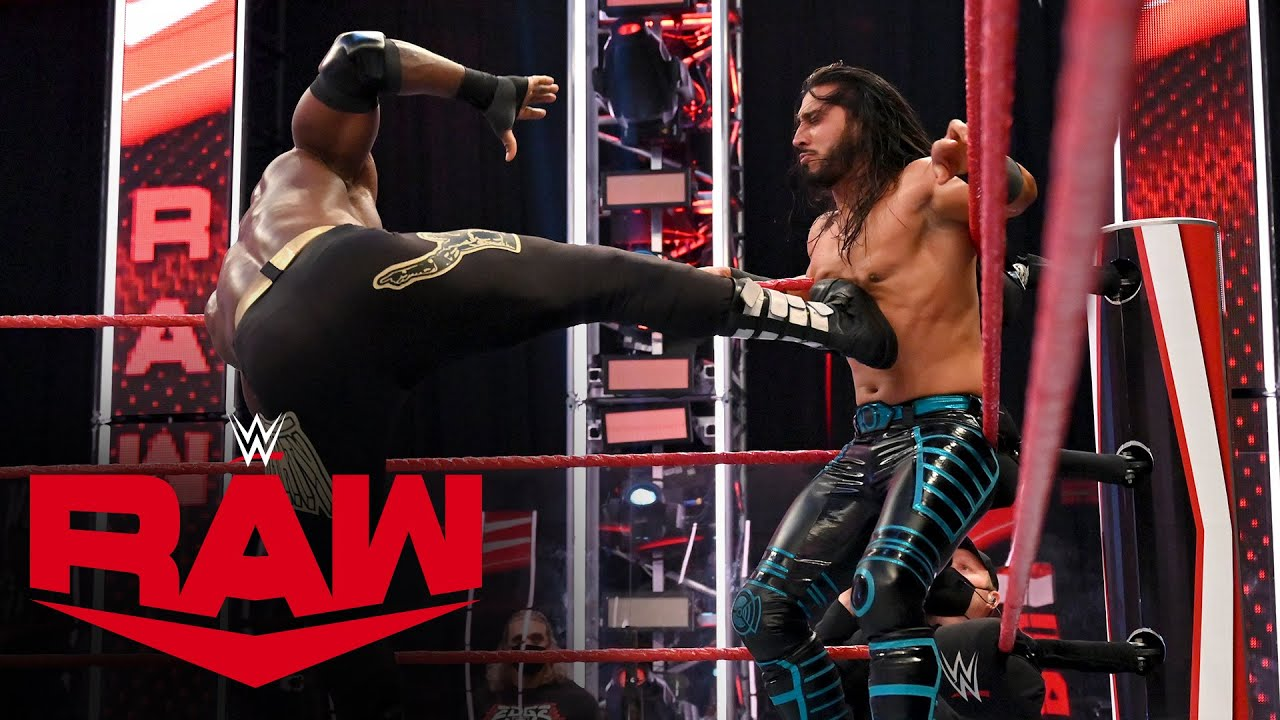 Mustafa Ali vs. Bobby Lashley: Raw, July 27, 2020