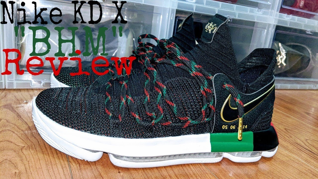 new style 2e5f9 009a4 This Year s BEST Nike BHM Shoe! KD X