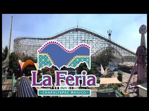 La Feria de Chapultepec Mágico (Mexico City Amusement Park) 2017 Tour & Review