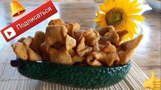 Картофельные хрусты, веган рецепт (быстрые рецепты)