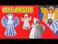 Christmas Lace Angel Crochet Patterns! CHRISTMAS IN JULY!