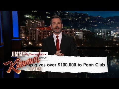 Jimmy Kimmel on College Admissions Scandal