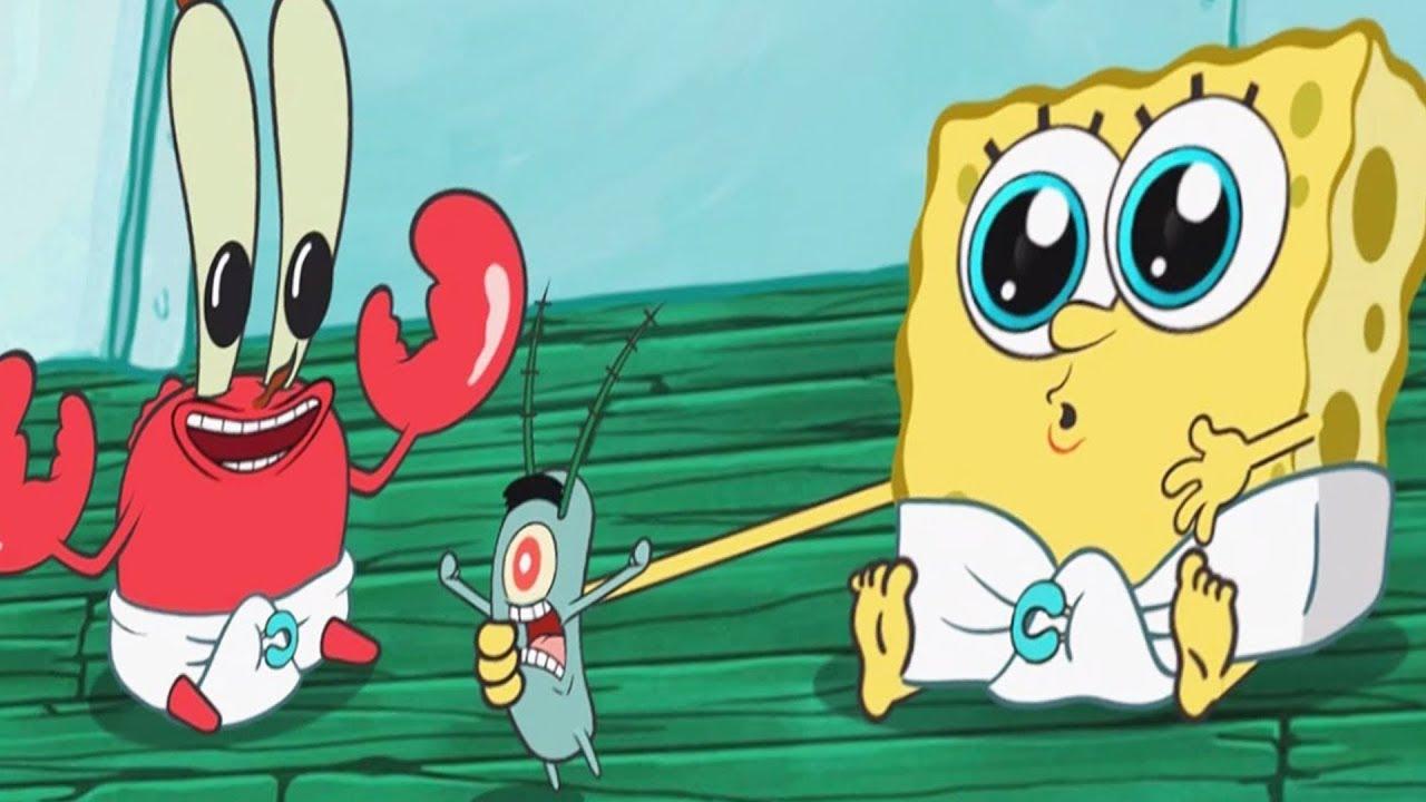 سبونج بوب جيم ستايشن Spongebob Game Station لعبة اندرويد للاطفال