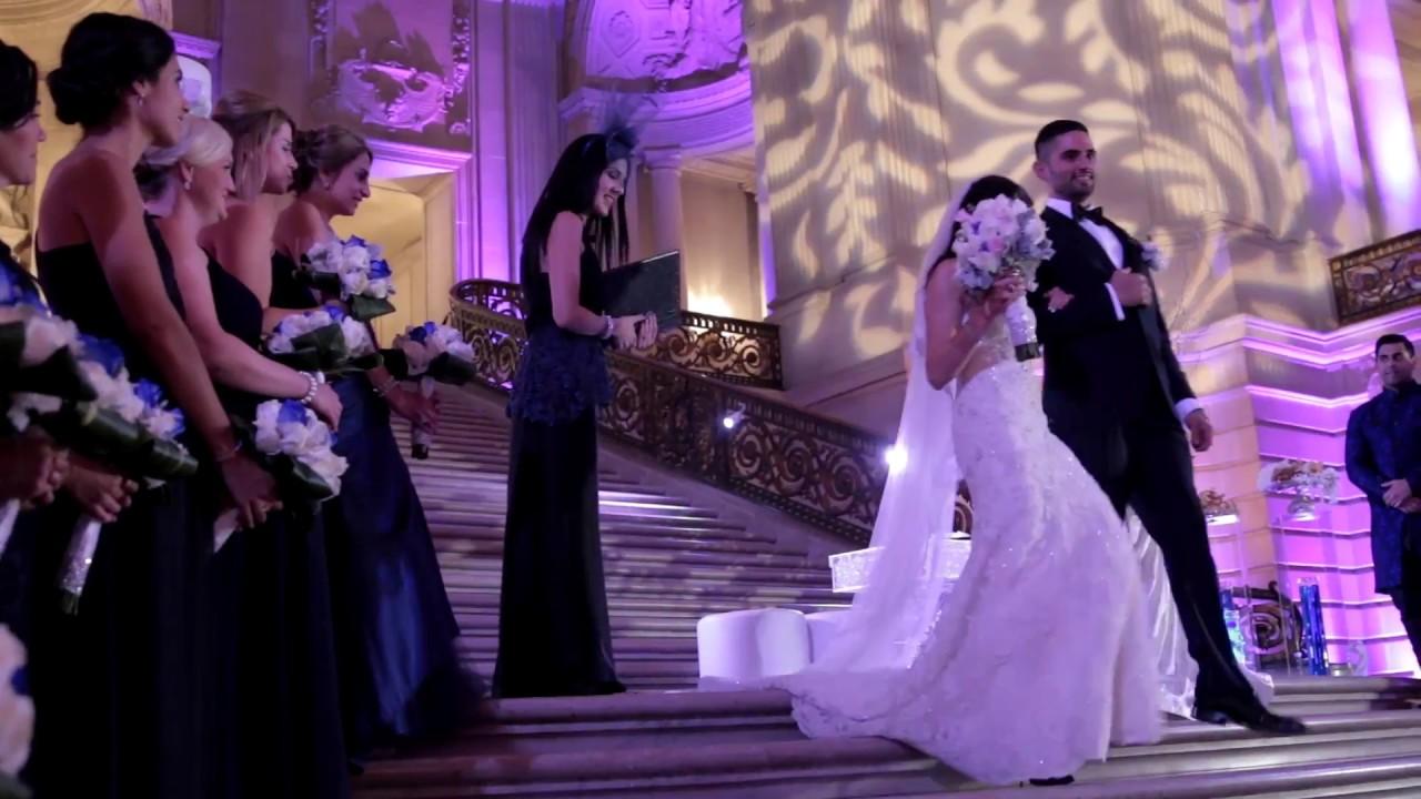 San Francisco City Hall Wedding Videography Persian Indian Ceremony