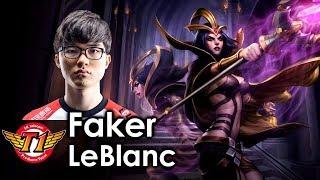 Faker picks LeBlanc thumbnail