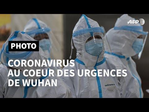 Coronavirus: au cœur des urgences de Wuhan   AFP Photo
