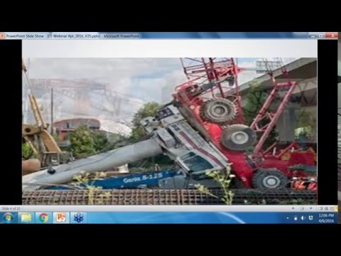 International Competency Assessment Board (I-CAB) Assessment: Cranes Rigging & Lifting