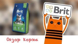 Обзор корма Brit Premium Cat Sterilised