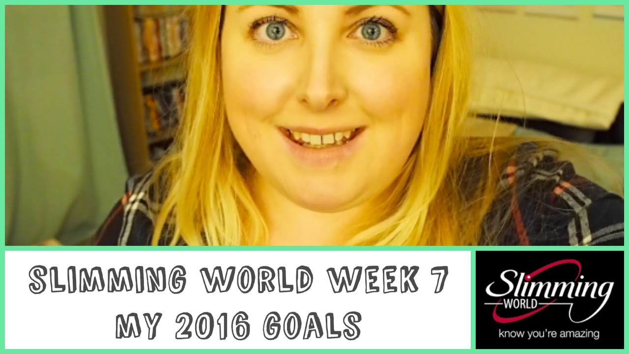Slimming World Week 7 2016 Goals Youtube