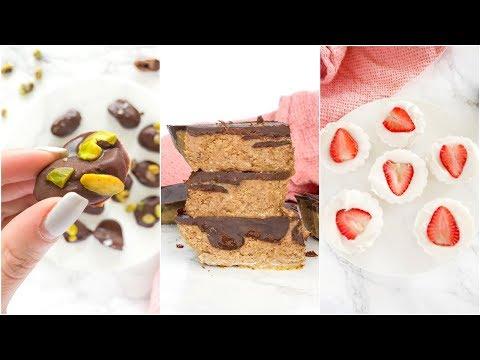 Healthy No Bake Desserts | easy paleo recipes