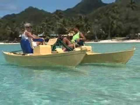 Treddlecat: A quantum leap in pedal boat power - YouTube