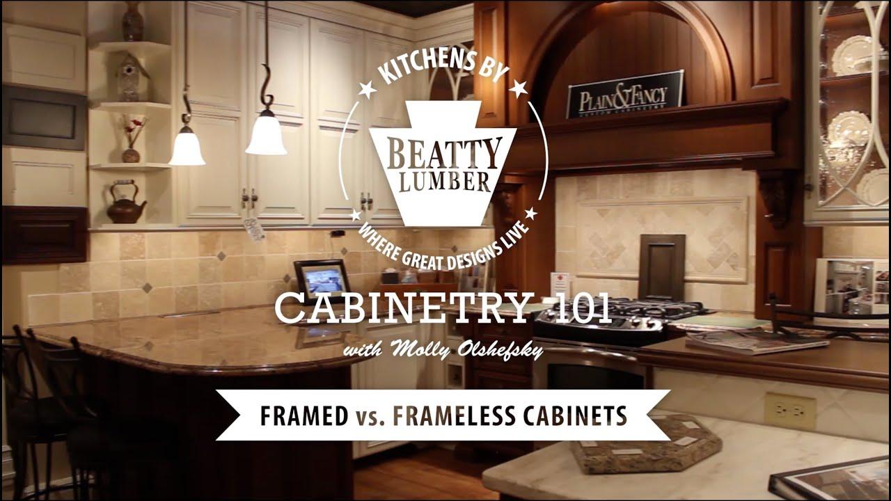 7 Cabinetry 101 Framed Vs Frameless Cabinets Youtube