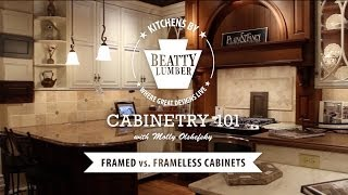 7 - Cabinetry 101: Framed Vs. Frameless Cabinets