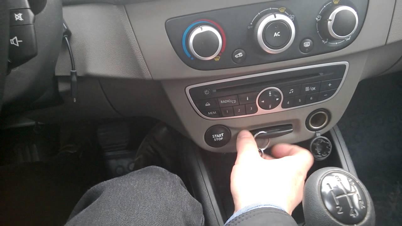 Renault Megane Nie Zapala Youtube