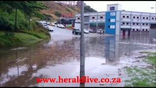 VIDEO: Baakens River in flood 25/07/2015