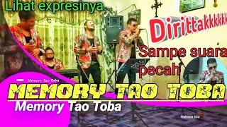 Diribak MEMORY TAO TOBA, dipopulerkan century trio,  cover live Nabasa Trio luar biasa direff nai,