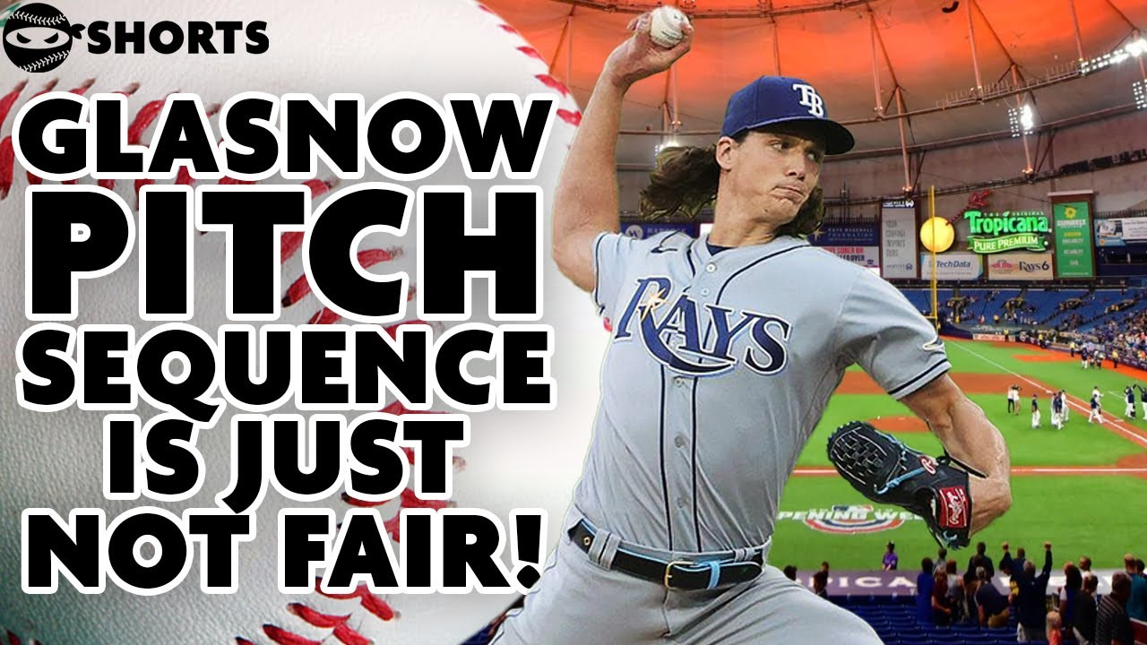 GLASNOW'S UNFAIR 3 PITCH SEQUENCE | @Pitching Ninja #Shorts