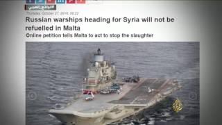 إسبانيا توقف تزويد الأسطول الروسي بالوقود