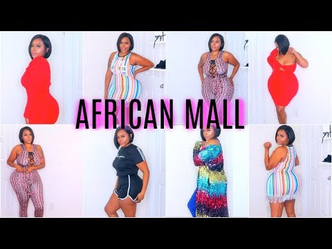 AFFORDABLE INSTAGRAM BADDIE AFRICAN MALL TRY ON HAUL- PLUS SIZE, CURVY GIRL  FRIENDLY
