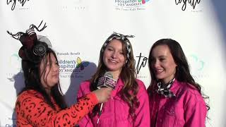 Sharlize & Shariah True Interviews - Legato Halloween Party