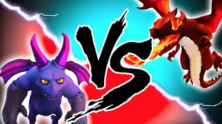 "Clash of Clans - ""DRAGONS VS MINIONS!"" EPIC TROOP CHALLENGE! Who Will Win?"