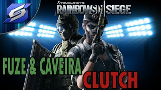🔥[FUZE & CAVEIRA CLUTCH   🎮 Rainbow Six Siege Gameplay ESPAÑOL LATINO 🇵🇷   xXSer SupremoXx