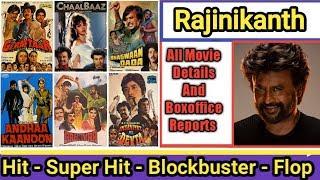 Rajinikanth (Hindi) Box Office Collection Analysis Hit And Flop Blockbuster All Movies List
