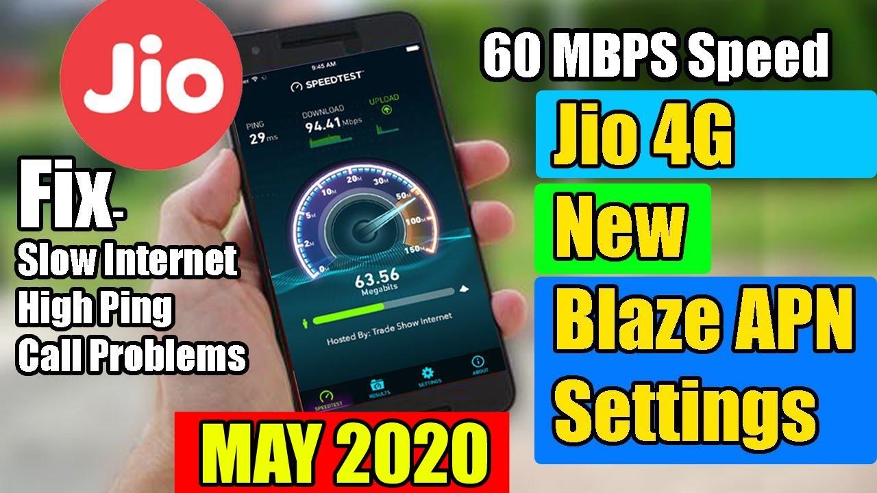 Jio Apn Settings 2020 60 Mb Jio Internet Speed Kaise Badhaye How To Increase Internet Speed Jio Youtube