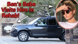 EXCLUSIVE - Ben Affleck's Playboy Model Girlfriend Shauna Sexton Visits Him In Rehab!