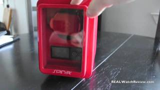 spin r eco friendly digital watch winder review