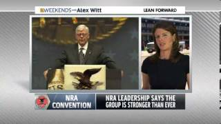 Wayne LaPierre NRA says   'We will never surrender our guns'