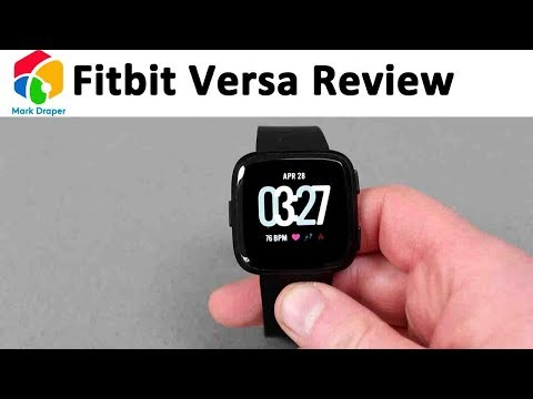 Fitbit Versa Review - Finally a Pebble replacement!