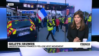 Who are the 'gilets jaunes' (yellow vest) protesters?