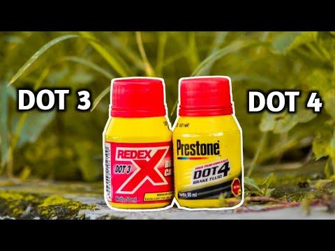 #16 - Perbedaan Minyak Rem DOT 3 & DOT 4 + Aturan Pakai