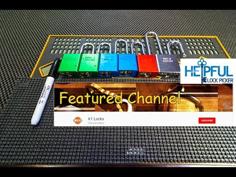 [172] Featured Lock Sport Channel Of The Week: K1 Locks