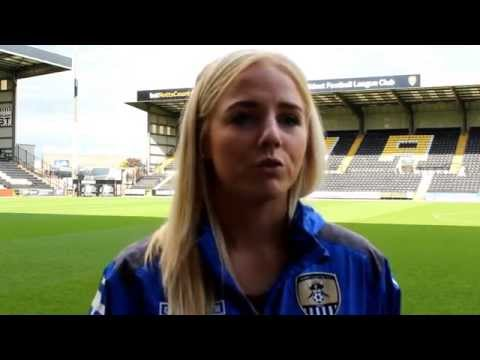 """Alex Greenwood - """"Mark Sampson is up there with the best"""""""