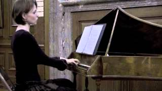 Magdalena Baczewska plays Polish music of the 18th century on a harpsichord