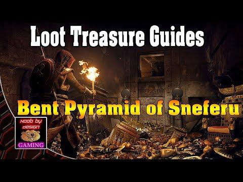 Assassins Creed Origins - Bent Pyramid of Sneferu - Loot Treasure Guides