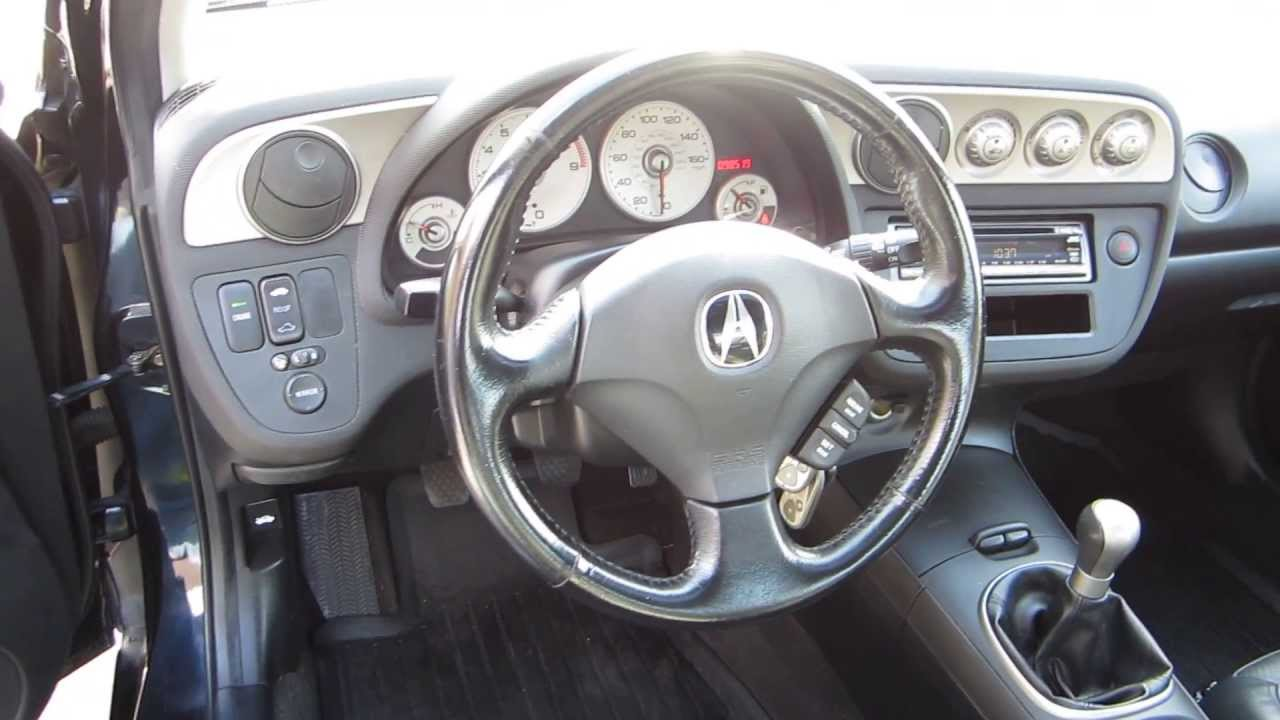 Acura RSX Black STOCK Interior YouTube - 2002 acura rsx interior