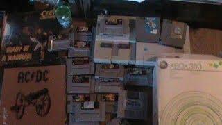 Garage Sale Finds!! XBox 360, Nintendo, Super Nintendo!! Memorial Weekend Sales!!